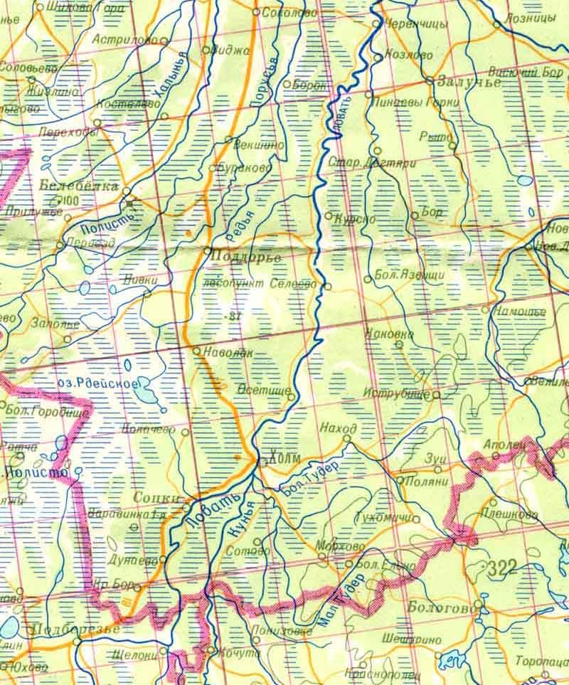 Обзорная карта часть 2